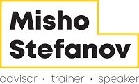 Misho Stefanov Logo