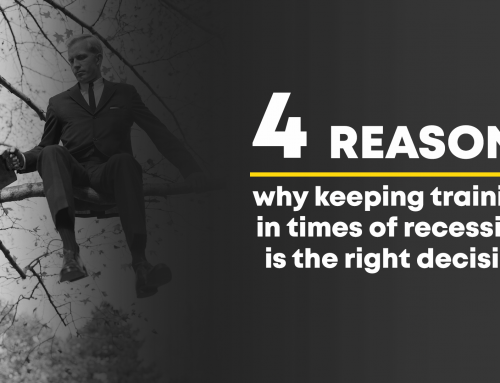 4 REASONS why keeping training in times of recession is the right decision